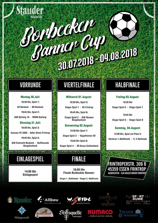 Borbecker Banner Cup 2018