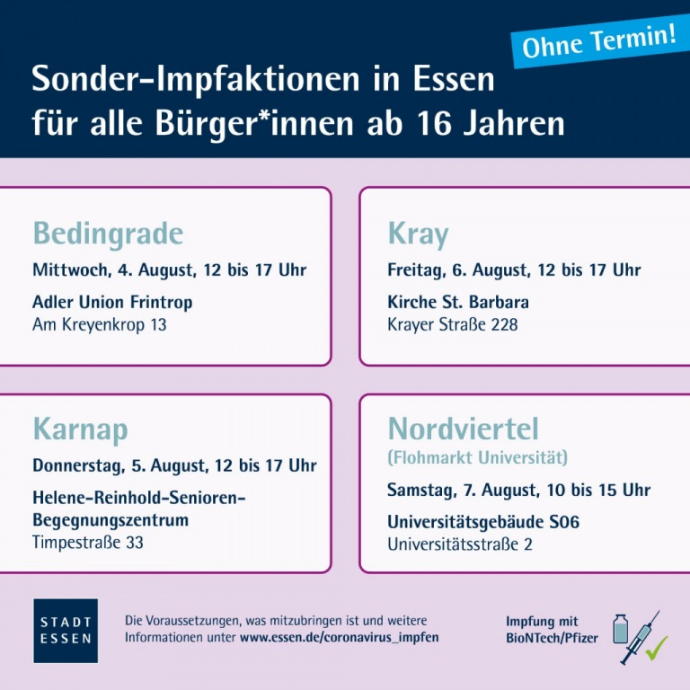 Covid Impfung am 04.08.21